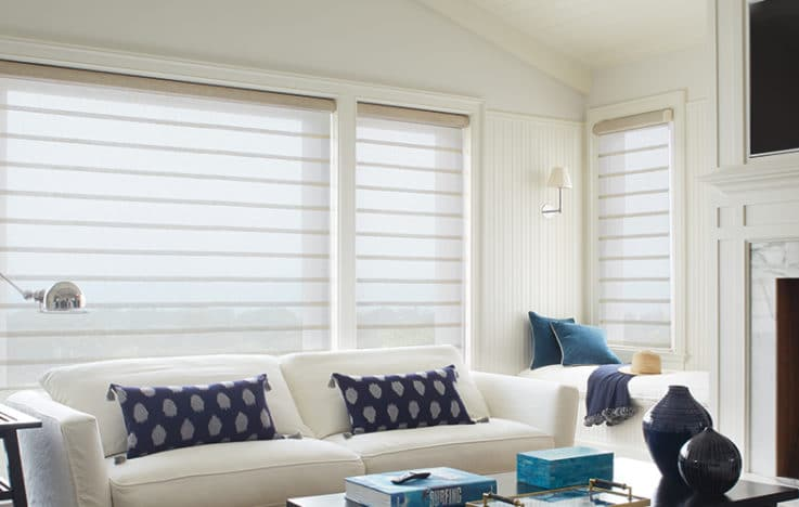 Roman Shades & Blinds