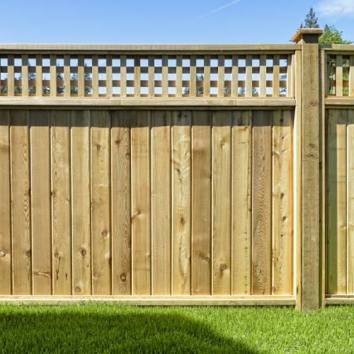 Wood Fencing & Gates