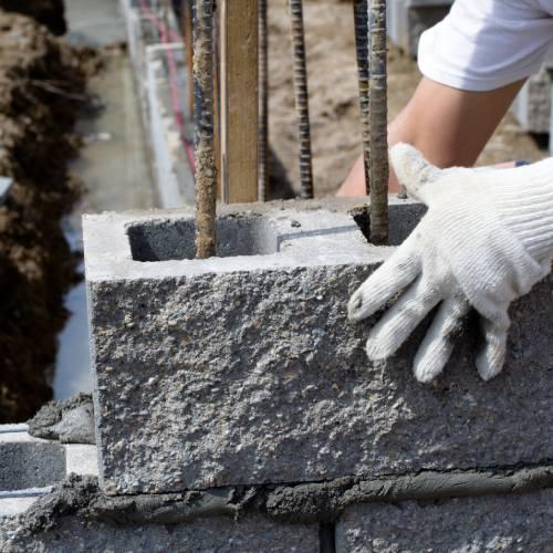 Concrete Block & Bricks