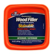 ELMER'S CARPENTER'S WOOD FILLER STAINABLE INT/EXT - PINT