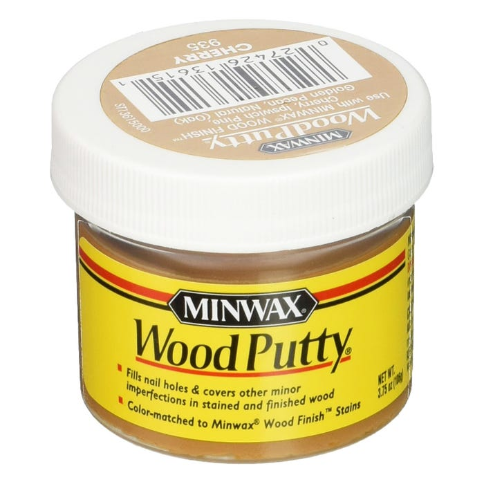 Minwax Wood Putty, Cherry #935, 3.75 oz.