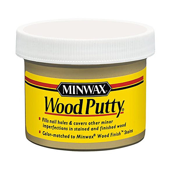 Minwax Wood Putty, Pickled Oak #960, 3.75 oz.