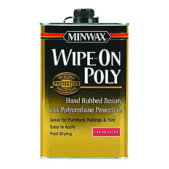 Pint SATIN WIPE-ON POLY