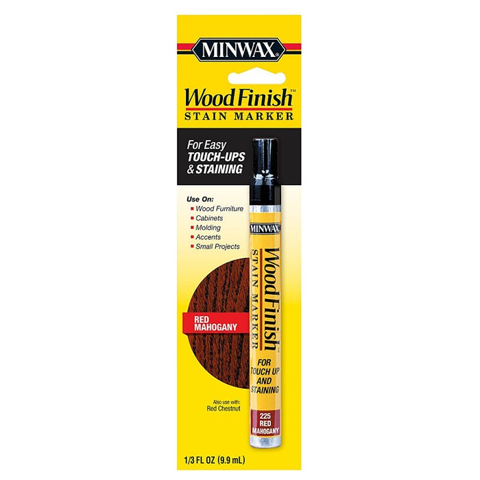 Minwax Wood Finish Stain Marker - Red Mahogany, 1/3 fl. oz.