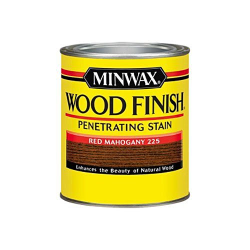 Minwax Wood Finish, Red Mahogany #225, Quart