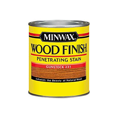 Minwax Wood Finish, Gunstock #231, Quart