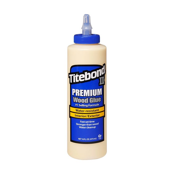 16 OZ WEATHERPROOF TITEBOND  II WOOD GLUE
