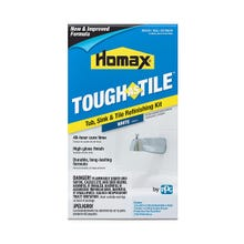 Homax Tough as Tile, Tub Sink & Tile Refinishing Kit, White