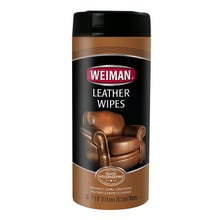 Weiman Leather Wipes, 30 - Count