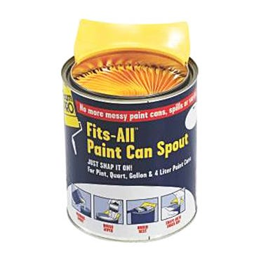 FITS-ALL PAINT CAN SPOUT