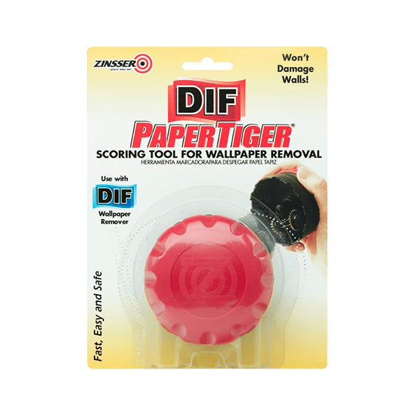 SINGLE HEAD PAPER TIGER WALL- COVERING SCORING TOOL