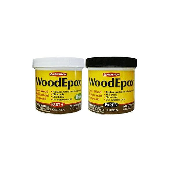 WoodEpox 6 oz each (Part A & B)