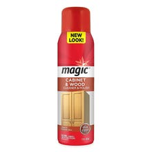 magic Cabinet & Wood Cleaner & Polish, Aerosol, 17 oz.
