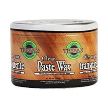 Trewax Paste Wax, Clear, 12.35 oz