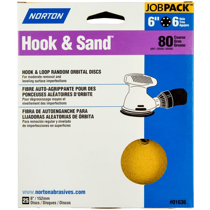 Norton Hook & Sand, 25 Pack, 6