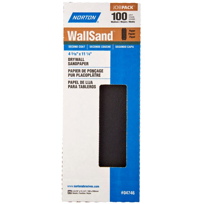 Norton WallSand, Drywall Sanding Sheets 4-3/16