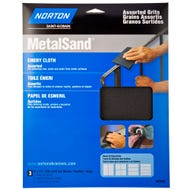Norton Emery Cloth Assorted 3 Pack