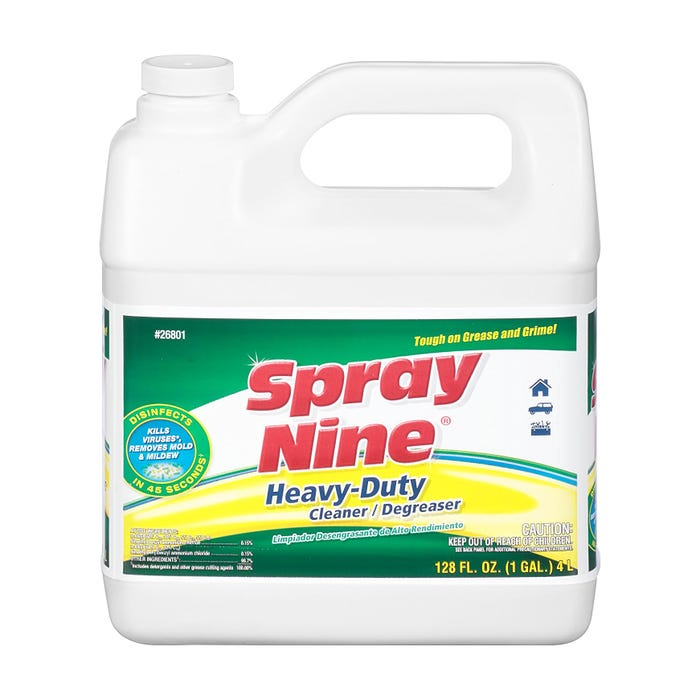SPRAY NINE HEAVY DUTY CLEANER, 1 GALLON