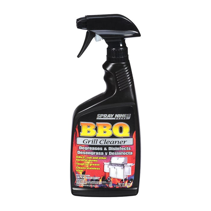 SPRAY NINE BBQ GRILL CLEANER, 25 FL OZ