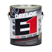 DRYLOK E1 1-PART EPOXY FLOOR PAINT, 1 GALLON, GRAY