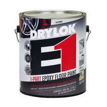 DRYLOK E1 1-PART EPOXY FLOOR PAINT, 1 GALLON, PLATINUM