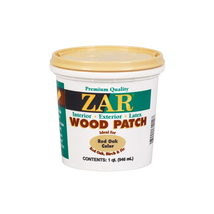Zar Wood Patch, Red Oak, Quart