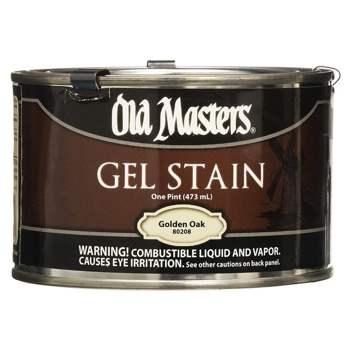 OLD MASTERS GEL STAIN,Golden Oak