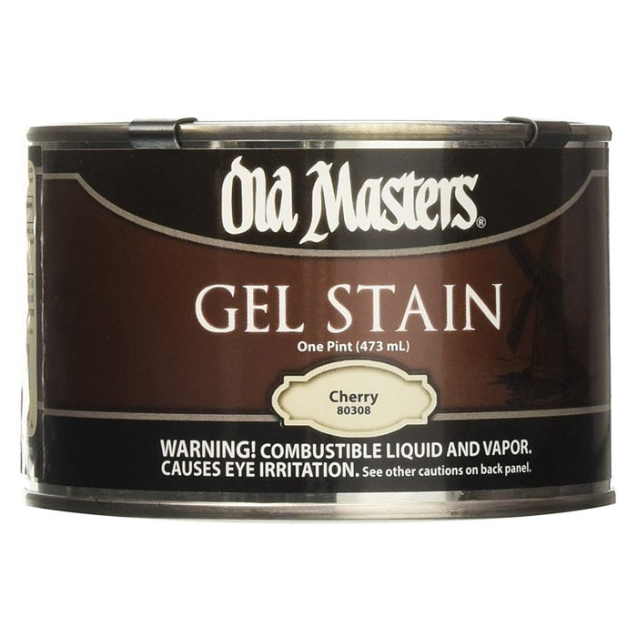 OLD MASTERS GEL STAIN,Cherry, PINT