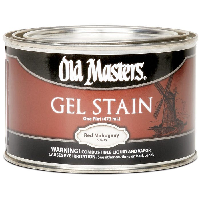OLD MASTERS GEL STAIN,Red Mahogany