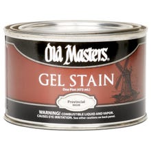 OLD MASTERS GEL STAIN,Provincial , PINT , 80508