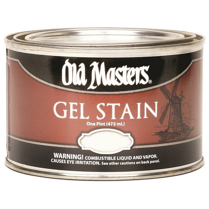 OLD MASTERS GEL STAIN,Spanish Oak, PINT