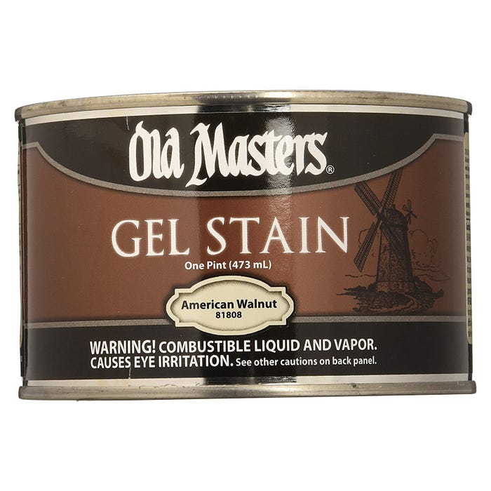 OLD MASTERS GEL STAIN,American Walnut