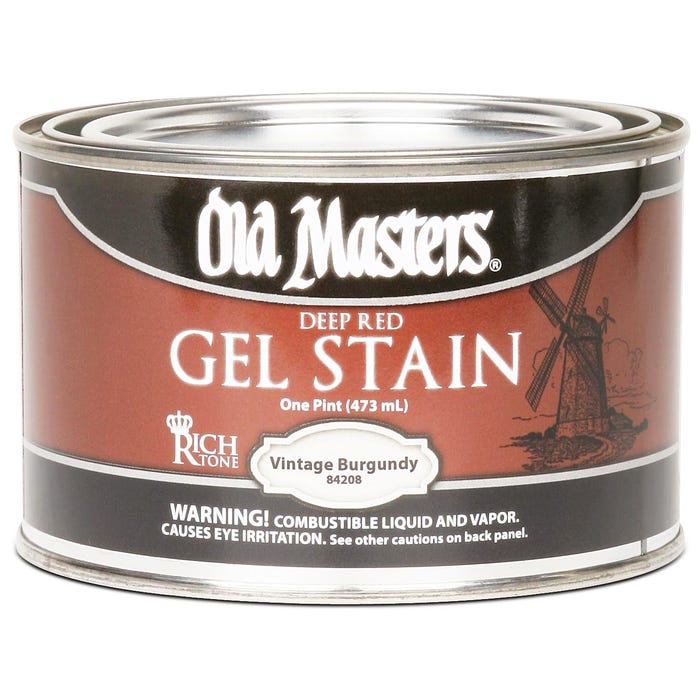 OLD MASTERS GEL STAIN,Vintage Burgundy