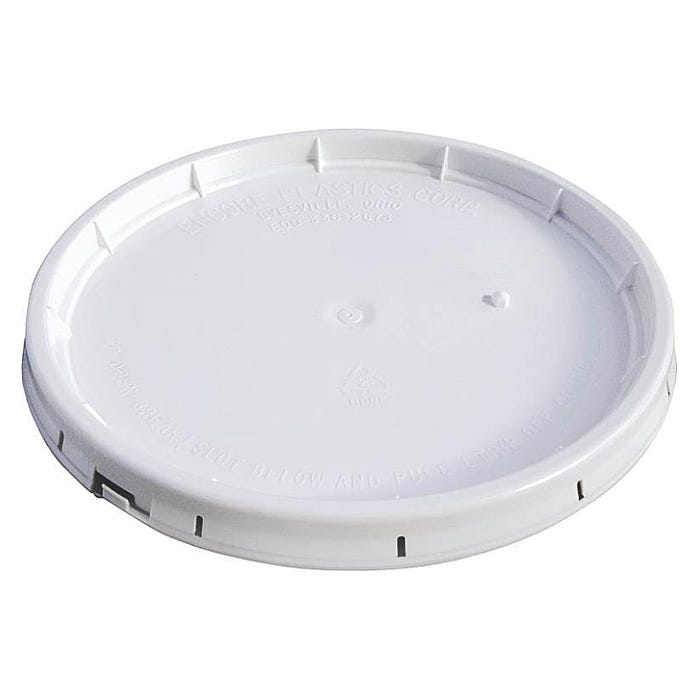 5 GALLON WHITE GASKETED LID