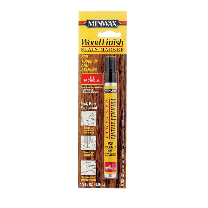 WOOD FINISH STAIN MARKER PROVINCIAL