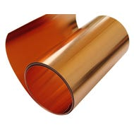 Image 1 of 16 oz Roll Copper Flashing, 10 in.