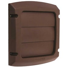 DUNDAS JAFINE ProVent LC4BXZW Exhaust Cap, 4 in Duct, Polypropylene, Brown