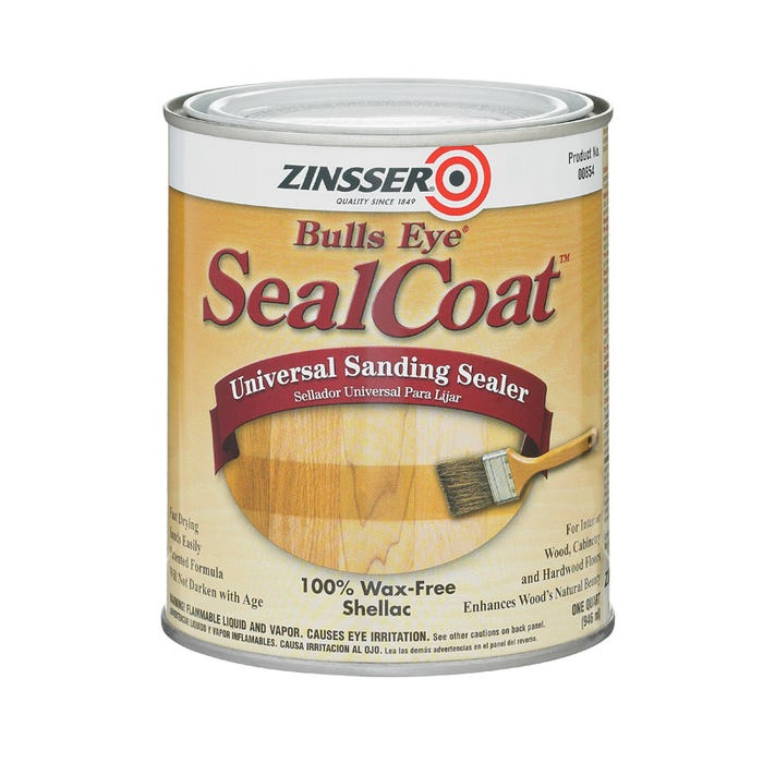 BULLS EYE SEAL COAT SANDING SEALER QUART