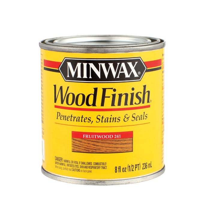 Minwax Wood Finish, Fruitwood #241, 1/2 Pint