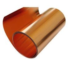 Image 1 of 16 oz Roll Copper Flashing, 12 in.