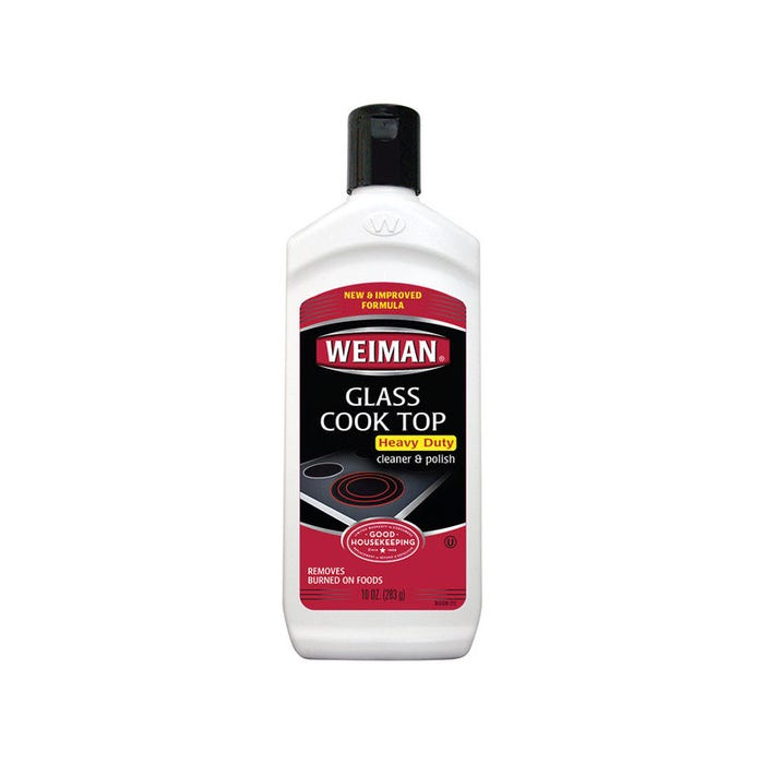 Weiman Glass Cook Top Heavy Duty Cleaner & Polish, 10 oz.