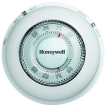 Image 2 of Honeywell CT87N Thermostat with Decorative Cover Ring, 24 V