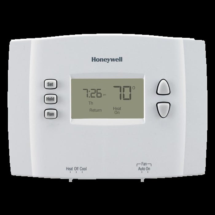 Image 2 of Honeywell RTH221B1021/A Programmable Thermostat