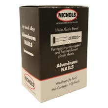 Image 1 of Nichols Wire  1-3/4 Aluminum Roofing Nails - 100 count