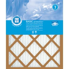 Image 1 of True Blue 216201 Air Filter, 20 in L, 16 in W, 7 MERV, Synthetic Pleated Filter Media