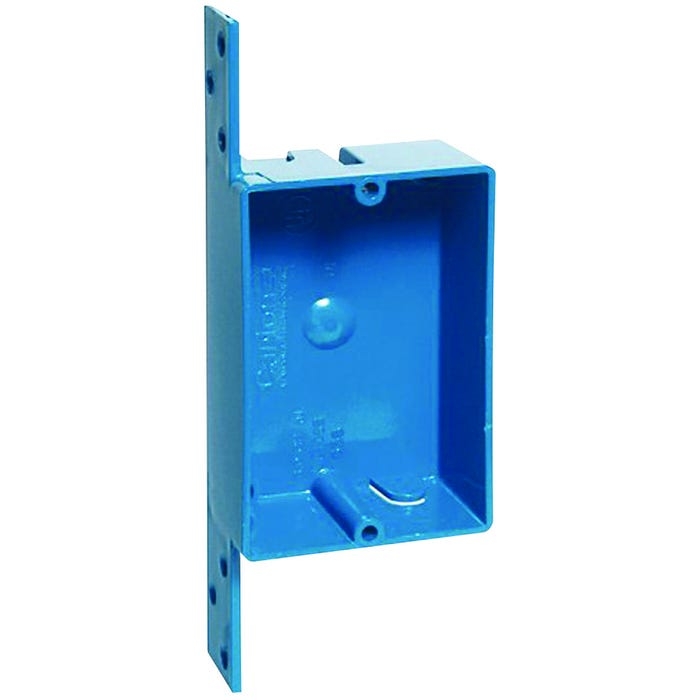 Image 2 of Carlon B108B-UPC Outlet Box, Clamp Cable Entry, Bracket Mounting, PVC