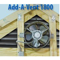 Image 1 of Lomanco Add-A-Vent 1800 Electric Power Vent