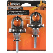 Image 2 of KEEPER 05648 Premium, Universal Anchor Point, Steel, Chrome