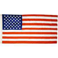 Image 2 of Valley Forge US4PN USA Flag, 4 ft W, 6 ft H, Nylon