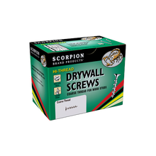 Image 1 of Scorpion #6 x 2 in. Phillips Bugle Head Interior Drywall Screw 3500 Count